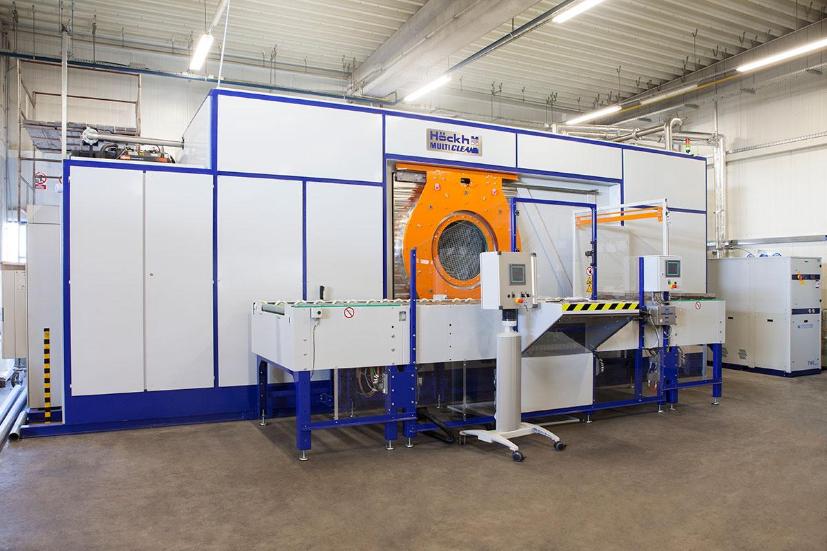 odtłuszczanie przemysłowe - maszyna